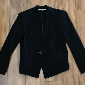 Rachel By Rachel Roy Black Long Sleeve Jacket Blaz